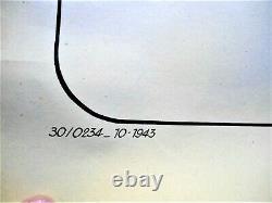 AFFICHE AUTHENTIQUE WW2 / ORIGINAL POSTER / ANTISEMITE 120 x 155 cm