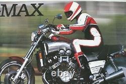 AFFICHE POSTER MOTO YAMAHA V-MAX V MAX 1200 PERIOD ORIGINAL MADE in JAPAN BURN