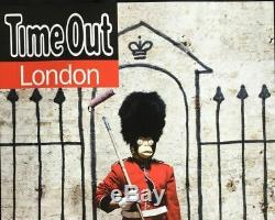 Affiche BANKSY Time Out London 2010 Original Artwork Poster Record