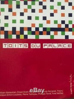 Affiche INVADER LA SOURIS DEGLINGUEE Les Toits du Palace 2014 Poster