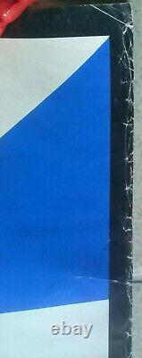 Affiche ORIGINALE PORSCHE 935 Course 6 H BRANDS HATCH 1977 Poster 101 cm x 76 cm