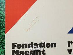 Affiche Original Poster Ellsworth KELLY Fondation Maeght Saint Paul 1970