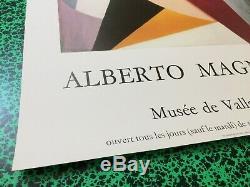 Affiche Original Poster Lot de 2 Alberto MAGNELLI Musée de Vallauris