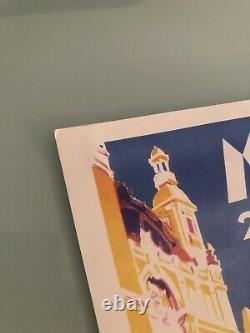 Affiche Originale Poster 5 éme Grand Prix Monaco Historique Formule 1 F1 2006