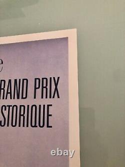 Affiche Originale Poster 7 éme Grand Prix Monaco Historique Formule 1 F1 2010