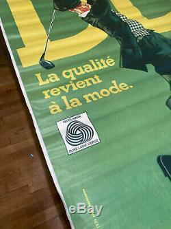 Affiche Originale Poster Chaussettes DD Signée ANDRÉINI Ettorino Vintage