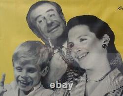 Affiche Sonora Années 50 Poster Originale / Excellent Condition / 120 X 81 CM