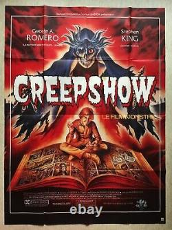 Affiche cinéma Creepshow (EO 1981) George-a Romero Original Vintage Poster