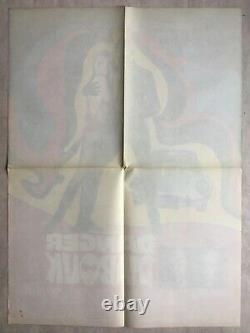 Affiche de cinéma originale Danger Diabolik (EO 1967) Mario Bava French Poster