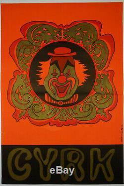 Affiche originale cirque(cyrk), zirkusplakat, plakat cyrkowy, ANTIQUE CIRCUS POSTER