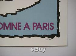 Alechinsky Pierre Affiche En Lithographie Signée 1972 Signed Lithographic Poster