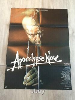 Apocalypse Now 1979 Coppola Brando Bob Peak Affiche Poster Original