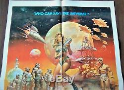 Barbarella Affiche ORIGINALE US 68x104cm POSTER One Sheet 2741