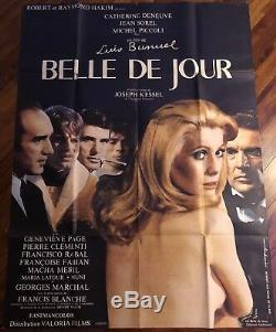 Belle De Jour / Deneuve / Affiche / Cinéma / Poster / 120x160 / Original
