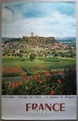 Chateaux de France Lot 21 affiches anciennes tourisme/original travel posters