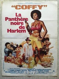 Coffy la panthère noire de Harlem (Affiche cinéma 1978) Original Movie Poster