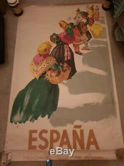 Collector POSTER Jose Morell ESPAÑA Original 1948 Affiche Poster