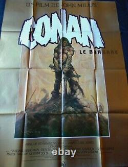 Conan le Barbare Affiche ORIGINALE 120x160cm POSTER One Sheet 47 63