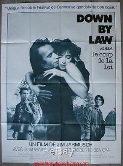 DOWN BY LAW Affiche Cinéma ORIGINALE / Movie Poster 160x120 JIM JARMUSCH