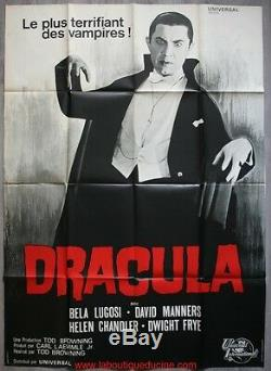 DRACULA 1931 Affiche Cinéma Originale / Movie Poster Tod Browning