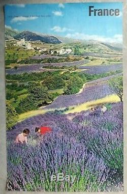 France Provence Alpes 4 affiches anciennes tourisme/original travel posters