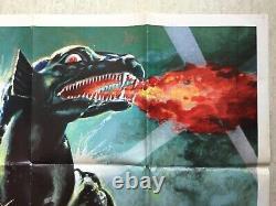 GORGO / Affiche Cinéma 1976 Original French Movie Poster (Kaiju No Godzilla)