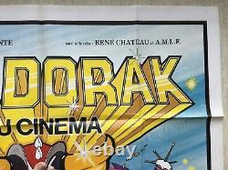 Goldorak au cinéma (Affiche EO 1978) Grendizer Original Big French Movie Poster