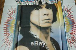 Iggy Pop Instinct 1988 Rare Affiche French Poster Disques Polydor Original