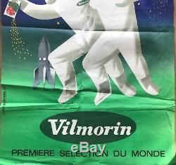 J. Norbert Rare Affiche Vilmorin On Sèmera Toujours Original French Poster