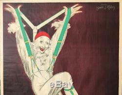 Jean Dylen Rare Affiche 1930 Bretelles Ceintures Filver Original French Poster
