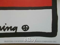 Keith Haring American Music Festival Affiche / Poster Original 1988, U. S. A