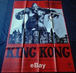 King Kong Affiche ORIGINALE 120x160cm POSTER One Sheet 47 63
