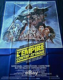 L'Empire Contre-Attaque Affiche ORIGINALE 120x160cm POSTER One Sheet 47 63