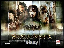 LE SEIGNEUR DES ANNEAUX Affiche Cinema Originale 320 x 240 cm Movie Poster
