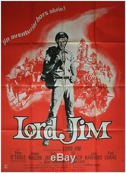 LORD JIM Affiche Cinéma Originale / Movie Poster PETER O TOOLE James Mason