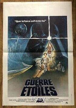 La Guerre Des Étoiles / Star Wars / 40x60 / Affiche / Poster / Original 77