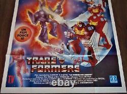 La Guerre des Robots Affiche ORIGINALE 120x160cm POSTER One Sheet 47 63