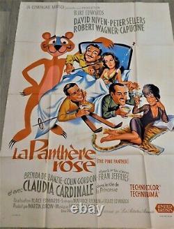 La Panthere Rose Affiche ORIGINALE Poster 120x160cm 4763 1963 Peter Sellers