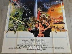 Le Retour du Jedi Affiche ORIGINALE Poster 120x160cm 4763 1983 Star Wars Ford