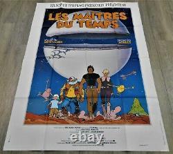 Les Maitres du Temps Affiche ORIGINALE Poster 120x160cm 4763 1982 René Laloux