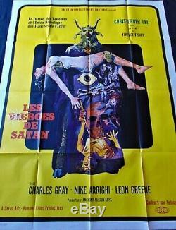 Les Vierges de Satan Affiche ORIGINALE 120x160cm POSTER One Sheet 47 63