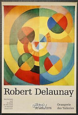 Lot De 2 Affiches Originale Robert Delaunay 1976 Et Sonia Delaunay Poster Print