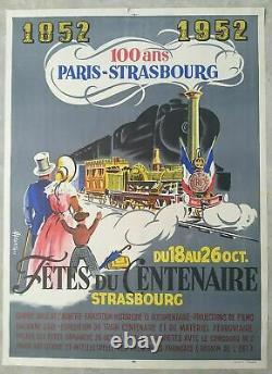 Lot de 7 affiches anciennes/original travel posters litho PLM SNCF 1930'-1960