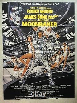 MOONRAKER (Affiche Originale cinéma EO 1979) Movie Poster James Bond 007