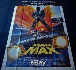 Mad Max Affiche ORIGINALE 120x160cm POSTER One Sheet 47 63