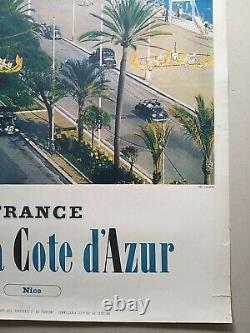 Nice Cannes Menton Riviera Cote d'Azur 6 affiches anciennes/original posters