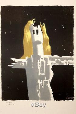 Original Affiche Paul Colin Vintage Affiche, Affiche Ancies