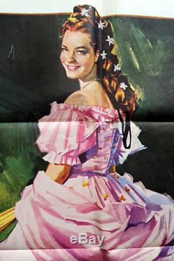 Original Affiche Poster Sissi le Plus de Succès Film de Romy Schneider