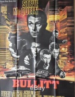 Original Movie Poster/ Affiches Cinema Bullitt + A Lest DEden + Le Samourai