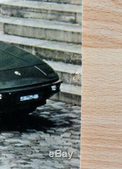 Original Porsche Affiche Poster la Famille 1979 Voiture de Sport